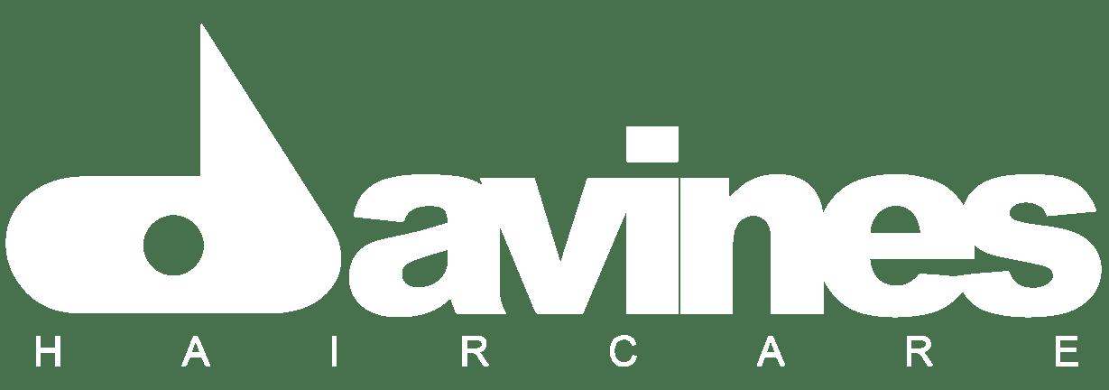 white-davines-logo